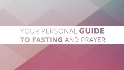 Guía personal de oración y ayuno