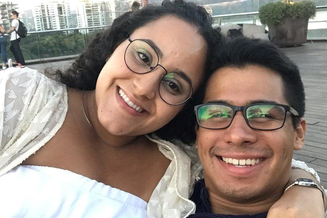 Anne, com seu esposo Franklin