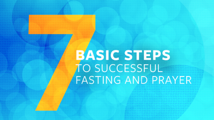 7 pasos para ayunar