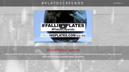 Platos Cayendo