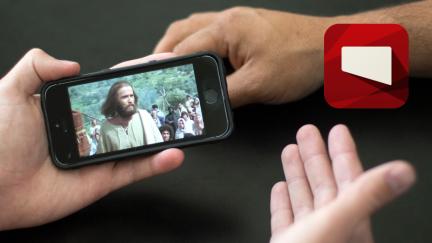 La aplicación de Jesus Film