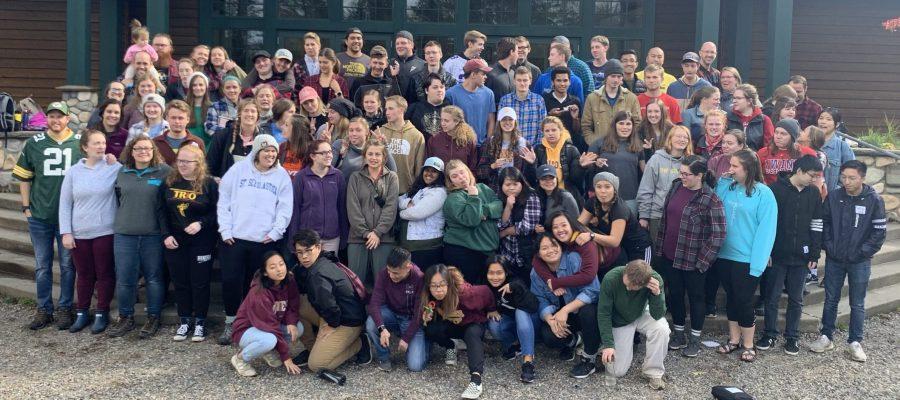 UMD Students at Fall Getaway