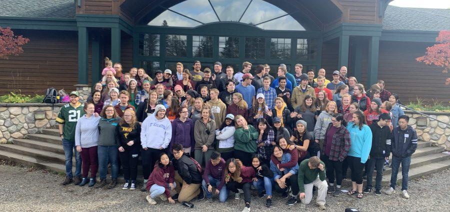 Mesabi Range Students at Fall Getaway