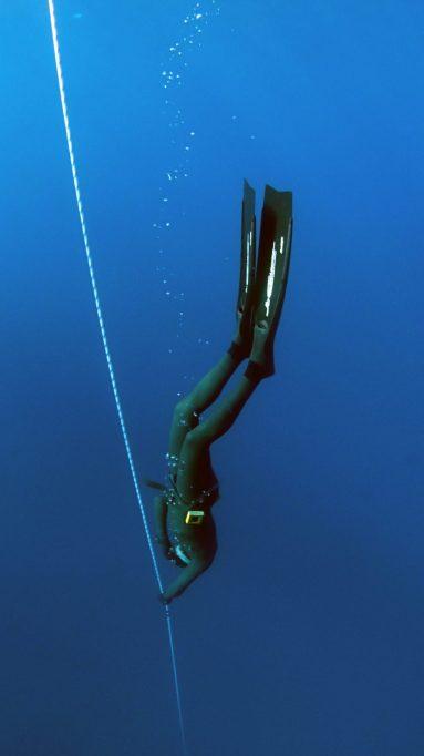 Deep Scuba Diver