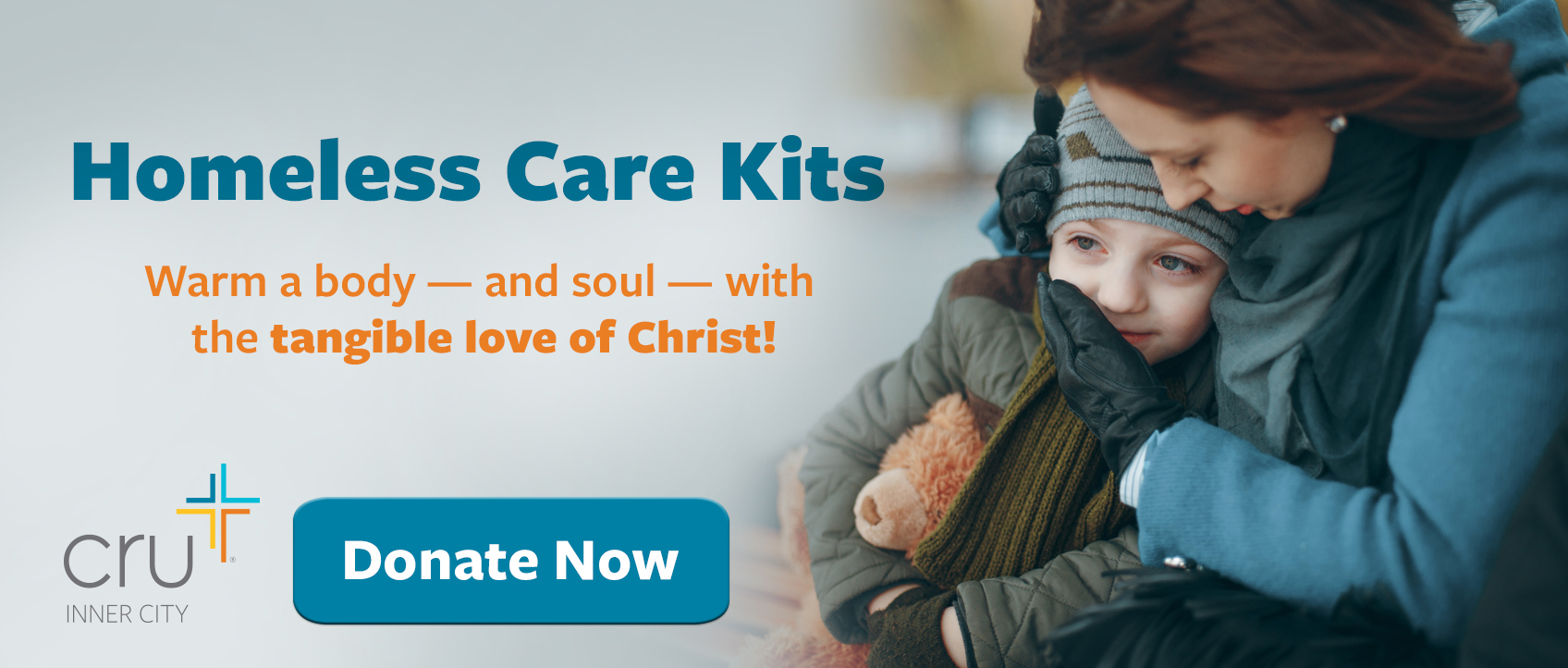 Give to Homeless Care Kits