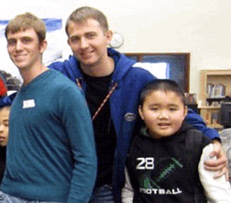 Left to right: Steve, Chris and Thang at Urban Immersion in Seattle