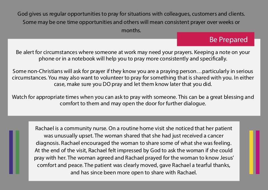 Praying For People At Work | Cru Singapore