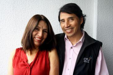 Galo y Jenny Zurita