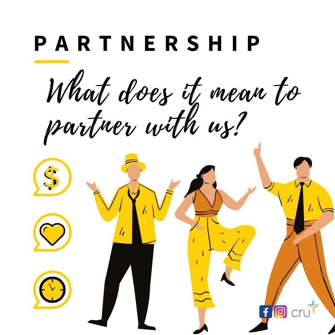 What does it mean to partner with Northwestern PA Cru_