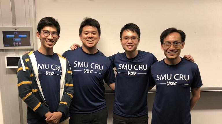 Shan En and SMU Cru mates