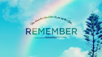 Cómo no hay que olvidar las promesas de Dios
