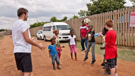 Soccer: Serving and Competing in South Africa: Part 2