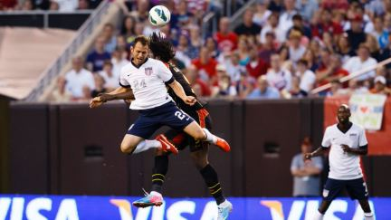 Behind the moment: US player Brad Davis at the World Cup