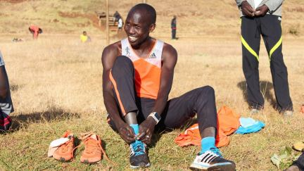 Why this runner's community loves him