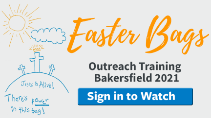 Easter Outreach Training