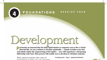 Session 4: Development