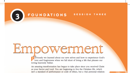 Session 3: Empowerment