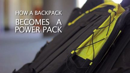 How a Backpack Becomes a PowerPack®
