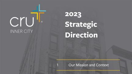 Our 2023 Strategic Direction
