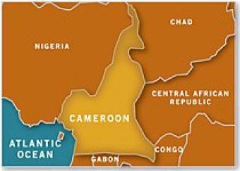 Cameroon Cru - Cameroon language map