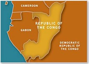 Map of Congo, Republic of
