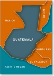 Map of Guatemala - Americas