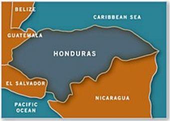 Map of Honduras