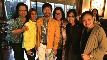 Boxer Manny Pacquiao Fights for Faith