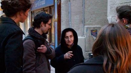 French students bring food and encouragement to the homeless