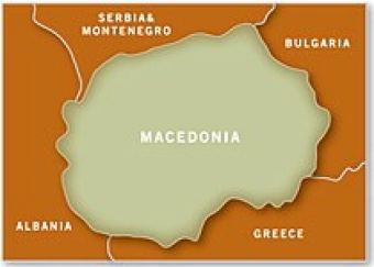 Map of Macedonia