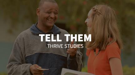 Study 7 – Tell Them