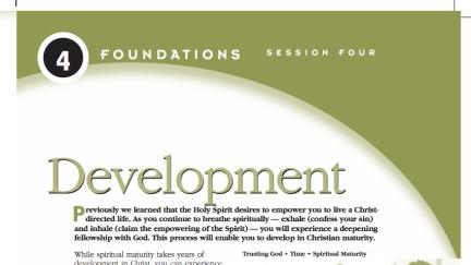 Session 4: Development