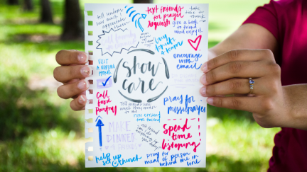 30 Ways to Show Someone You Care